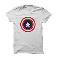 Buy Captain America Shield T-Shirt Online
