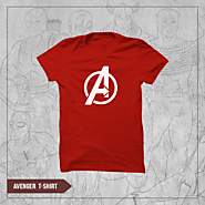 Buy printed t-shirts for men of Marvel Collection