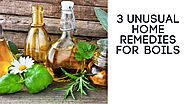 Home Remedies for Boils: 3 Unusual Home Remedies for Boils
