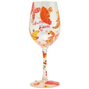 Amazon.com: Lolita Love My Wine Glass, Butterfly Kisses: Kitchen & Dining