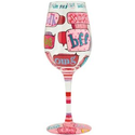 Amazon.com: Lolita Love My Wine Glass, Text Me: Kitchen & Dining