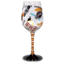 Lolita Love My Wine Glass, 5 O'clock Somewhere for Him : Amazon.com : Kitchen & Dining