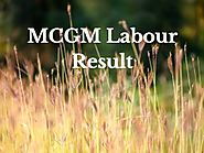 MCGM Labour Result 2018 | BMC Group D Exam Results Download