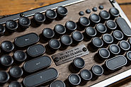 Website at https://techcrunch.com/2018/02/09/azios-retro-classic-typewriter-inspired-bluetooth-keyboard-is-a-luxuriou...