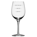 Fun Wine Glass