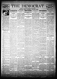 Primary Color/Filler The Democrat. (McKinney, Tex.), Vol. 17, No. 51, Ed. 1 Thursday, January 17, 1901 - The Portal t...
