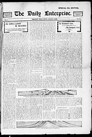Primary Color/Filler The Daily Enterprise (Beaumont, Tex.), Vol. 5, No. 288, Ed. 1 Friday, January 10, 1902 - : Searc...