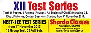 Sharda Classes, Nagpur, Best Coaching Classes for NEET IIT JEE MHT-CET Preparation in Nagpur