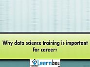 Why data science training is important for career?