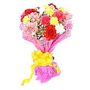 Buy/Send Carnations Delight Online - YuvaFlowers.com