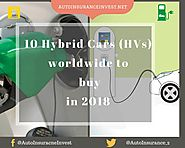 Top 10 Hybrid Cars (HVs) worldwide to buy in 2018 | Auto Insurance Invest