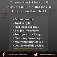 Ways to save money on car gasoline bill? | Auto Insurance Invest