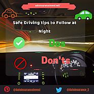How to stay safe while driving at night | Auto Insurance Invest