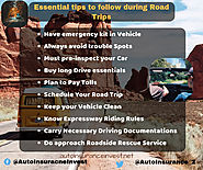 Essential tips to follow for Safe road trips | Auto Insurance Invest