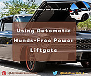 Using Automatic Hands-Free Power Liftgate | Auto Insurance Invest