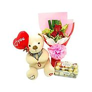 Sweet Love Combo Teddy