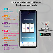 TiCKPAY With The Different Business Verticals