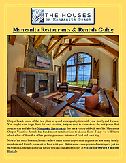 Manzanita Restaurants & Rentals Guide