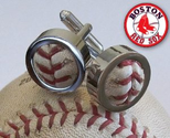 Boston Red Sox Game Used Baseball Cufflinks