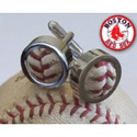 Authentic Game Used Baseball Stitches Cufflinks