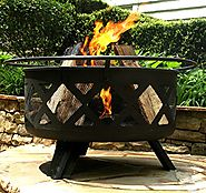 top 10 best wood burning fire pits to buy 2018 on Flipboard