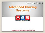 The art glazing systems and the latest products available in the uk.