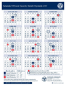 Social Security Disability Timetable
