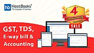 HostBooks 4th Anniversary Sale || Accounting and Compliance Software at Lowest Prices