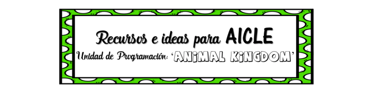 Headline for RECURSOS AICLE - Vertebrate animals 2ºPrimaria