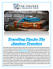 Travelling Tips for The Amateur Travelers