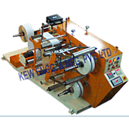 Doctoring Rewinding Machine with Slitting System, Batch Coding