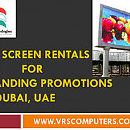 LED Screen Rentals for Branding Promotions in Dubai UAE | Visual.ly