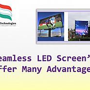 Seamless LED Screens Offer Many Advantages | Visual.ly