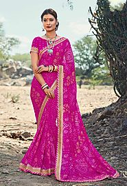 Bandhini Saree from Gujarat