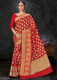 Benarasi Silk Saree from Uttar Pradesh