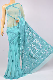 Chikankari Saree from Lucknow