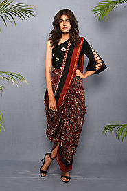 Kalamkari Saree from Rajasthan