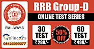 RRB Group D Online Test Series