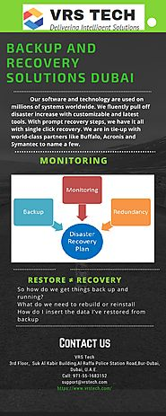Backup and Recovery Solutions Dubai Uae - Vrstech
