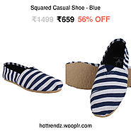 Squared Casual Shoe