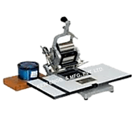 Hand Operated Batch Printing Machine, Batch Printing Machines