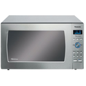 "Panasonic NN-SE982S Genius ""Prestige"" 2.2 cuft 1250-Watt Sensor Microwave with Inverter Technology & Blue Electrostat..."