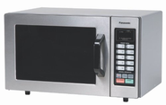 Panasonic 0.8 cuft Stainless Steel Commercial Microwave Oven, 1,000 Watts