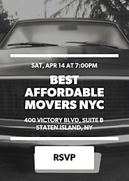 Best Affordable Movers NYC