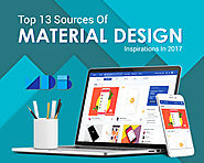 Top 13 Sources Of Material Design Inspirations In 2017