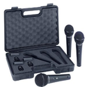 Amazon.com: Behringer ULTRAVOICE XM1800S Dynamic Cardioid Vocal Microphones, 3-Pack: Musical Instruments