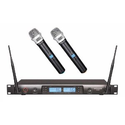 Amazon.com: GTD Audio G-622H 200 Channel UHF Professional Wireless microphone Mic System: Musical Instruments