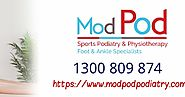 Get Better Foot and Ankle Treatment Service At ModPod Sydney
