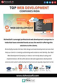 top web development companies india | RichestSoft | Piktochart Visual Editor