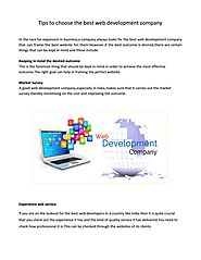 Optimized Results with Best web development company - Richestsoft